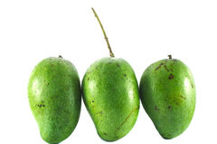 Groene Mango Royalty-vrije Stock Fotografie