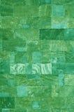 Groene marmeren tegels royalty-vrije stock foto