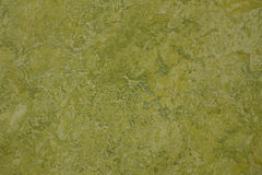 Groene marmerlinoleum behandelde vloer Stock Fotografie