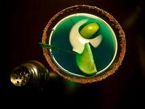 Groene Martini royalty-vrije stock afbeelding