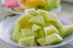 Groene meloen Stock Foto's