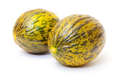 Groene Meloen twee Royalty-vrije Stock Fotografie