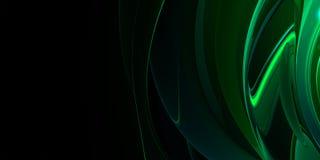 Groene metaal abstracte achtergrond stock illustratie