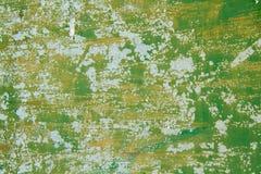 Groene metaalplaat Royalty-vrije Stock Foto's