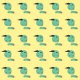 Groene monster vectorillustratie Stock Fotografie