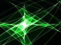 Groene motie stock foto
