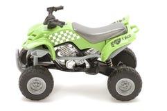 Groene motorfiets Stock Foto