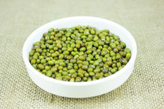 Groene mung bonen Stock Foto's