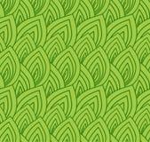 Groene naadloze achtergrond Stock Fotografie