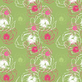 Groene naadloze textuur #7 Stock Foto's