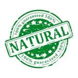 Groene natuurlijke Zegel - Stock Foto