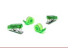 Groene Nietmachine Royalty-vrije Stock Foto's