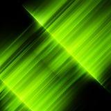Groene noordelijke lichten, aurora borealis Eps 10 Stock Afbeelding