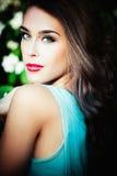 Groene ogen royalty-vrije stock fotografie