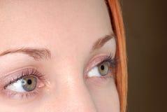 Groene ogen Royalty-vrije Stock Afbeeldingen