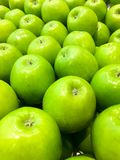 Groene Oma Smith Apples royalty-vrije stock foto