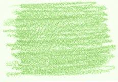 Groene organische natuurlijke achtergrond met de houtskooltextuur van het ecopotlood grunge Stock Fotografie