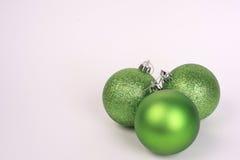 Groene ornamenten Stock Afbeelding