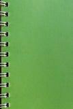 Groene pagina Royalty-vrije Stock Afbeeldingen