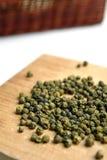 Groene paprika Stock Afbeeldingen
