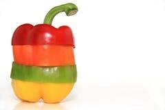 Groene paprika Stock Foto
