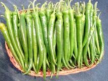Groene paprika Royalty-vrije Stock Foto