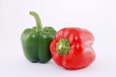 groene paprika fruit Royalty-vrije Stock Foto's