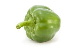 Groene paprika (profiel) Stock Foto