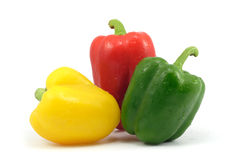 Groene paprika's stock fotografie