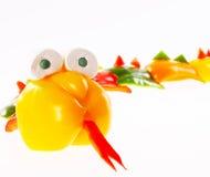 Groene paprika - slang Stock Fotografie