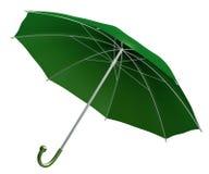 Groene paraplu vector illustratie