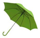 Groene paraplu Stock Foto
