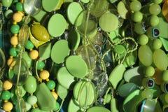 Groene parels Stock Foto