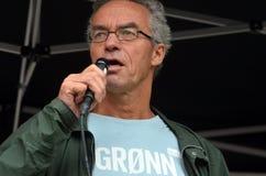 Groene Partijpoliticus Rasmus Hansson Stock Afbeeldingen