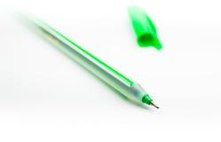 Groene Pen Royalty-vrije Stock Afbeeldingen