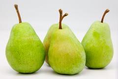 Groene peren Royalty-vrije Stock Afbeeldingen
