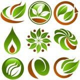 Groene Pictogrammen Eco