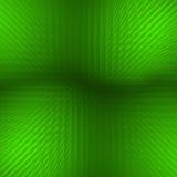 Groene piramides Royalty-vrije Stock Afbeeldingen