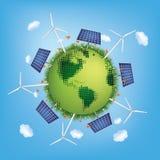Groene Planeet Stock Afbeeldingen