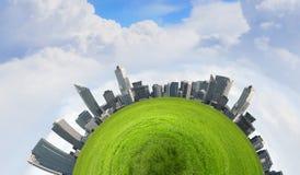 Groene planeet Royalty-vrije Stock Afbeelding