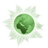 Groene planeet Royalty-vrije Stock Foto's