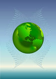 Groene planeet Stock Fotografie