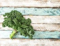 Groene plantaardige de bladerennatuurvoeding van de boerenkoolkool royalty-vrije stock afbeelding