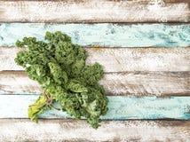 Groene plantaardige de bladerennatuurvoeding van de boerenkoolkool stock afbeeldingen