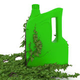 Groene plastic container Royalty-vrije Stock Fotografie