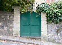 Groene poort Stock Afbeelding