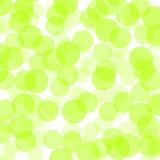 Groene punten Stock Foto's