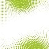 Groene punten ecologische achtergrond Stock Foto's