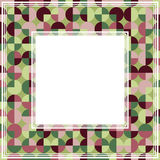 Groene purpere abstracte grens Stock Foto's