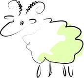 Groene Ram Stock Foto